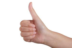 Who will give you a thumbs up reference? Pick wisely.